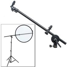 PRO Studio Photo Holder Bracket Swivel Head Reflector Arm Support 24″-66″
