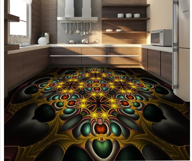 Buy custom photo floor wallpaper 3d for 3d murals for sale