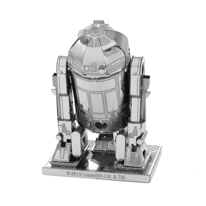 3D Laser Cut Robot Stainless Steel Miniature Model Kits Sheets DIY Toys Boys(China (Mainland))