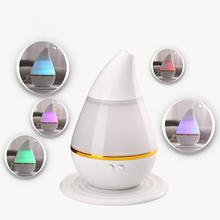 Lowest price USB LED Air Humidifier Incense Burners Essential Oil Ultrasonic Aroma therapy Diffuser Free Shipping(China (Mainland))
