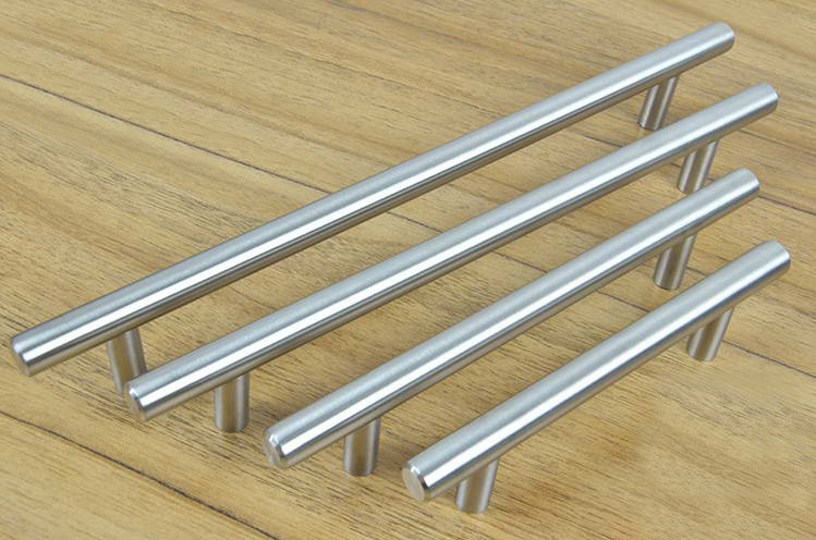 Furniture Hardware Stainless Steel Kitchen Cabinet Handles Bar T Handle C C 385mm L 600mm In