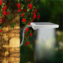 Led Sensor de la lámpara Solar a prueba de agua luz de calle Solar 15 LEDs exterior camino del jardín pared de seguridad de la lámpara iluminación del punto Jardin(China (Mainland))