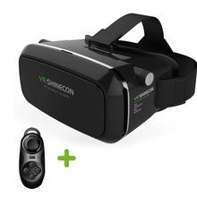Shinecon VR Virtual Reality 3D Glasses Helmet Google Cardboard Oculus Rift DK2 for iPhone Samsung 4.7 ~ 6 inch Smartphone(China (Mainland))