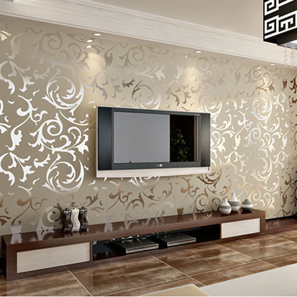 Papel de parede p rr sala sala de pvc decoraci n papel for Papel decorativo pared