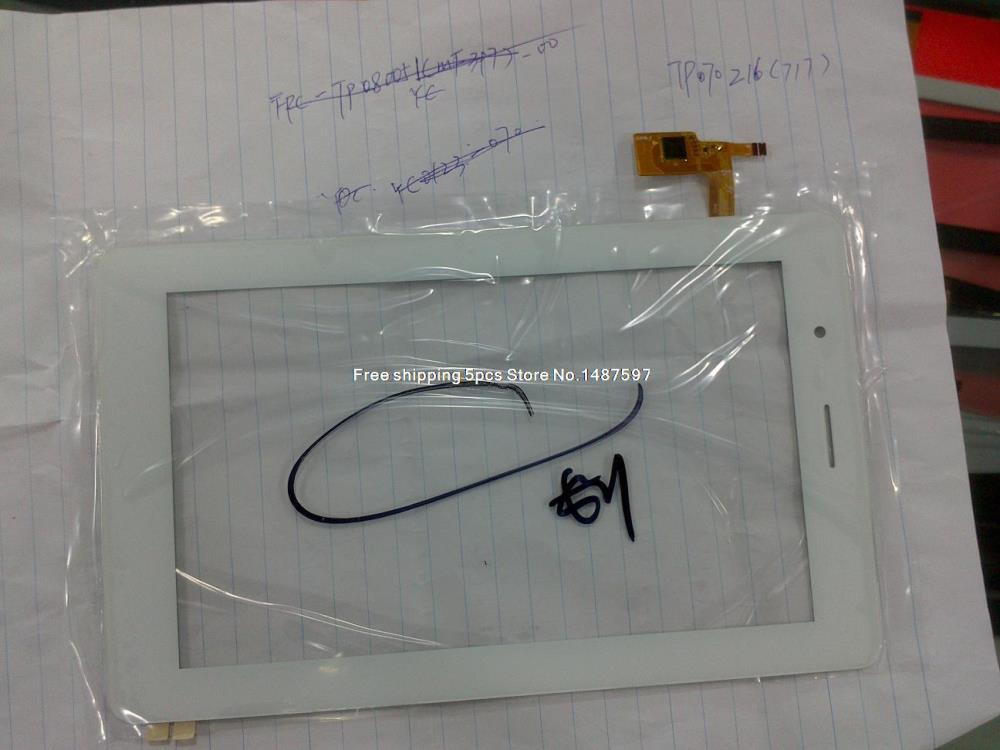 5PCS Free shipping TP070216 (717) touchscreen<br><br>Aliexpress