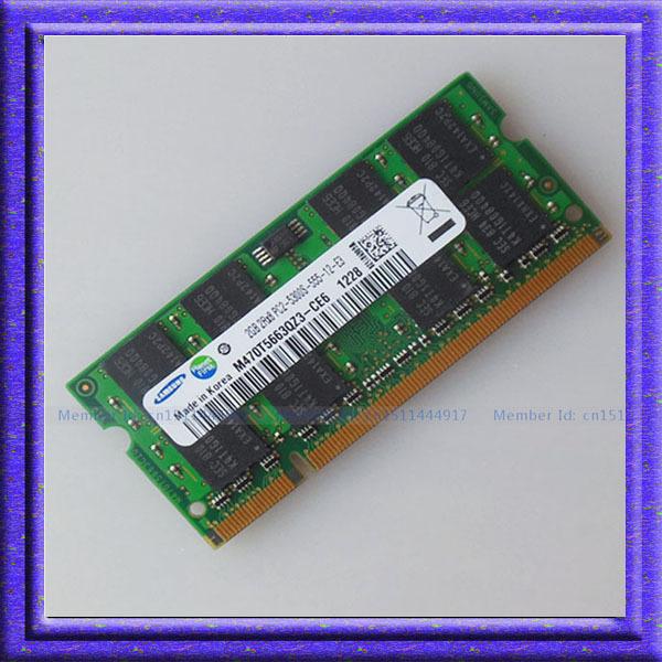 Гаджет  Samsung 2GB  PC2-5300 DDR2 667Mhz SO-DIMM 200 PIN Laptop ddr2 2G Notebook RAM Memory Free Shipping None Компьютер & сеть