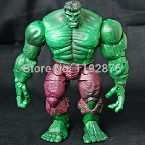 Free shipping The Avengers 18cm All Joints Action Hulk Action Figure Model Toy(China (Mainland))