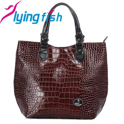 New 2015 Women Large Capacity Tote Bag Fashion Genuine Real Leather Handbags Crocodile Ladies Shoulder Crossbody Bags pc082<br><br>Aliexpress