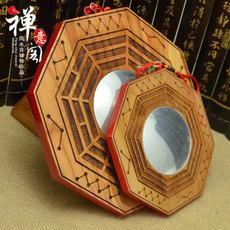 Kaiyun Bagua mirror convex concave alloy block evil Feng Shui mirror Zhaocai ornaments Tai Chi Yin and Yang mirror