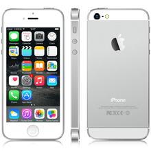 "Original Apple iPhone 5 16GB/32GB Dual Core 1GHz IOS 8 3G WIFI GPS Siri 8MP 1080P 4.0""IPS HD Unlocked Smart Brand Mobile Phone(China (Mainland))"