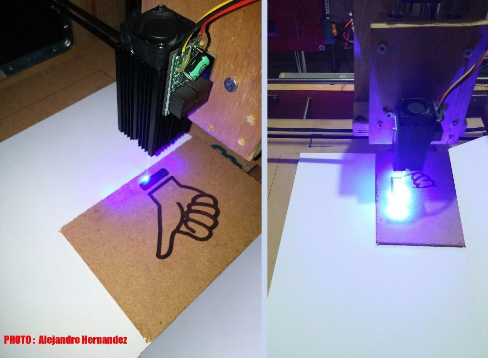 Как сделать лазер на фото 275