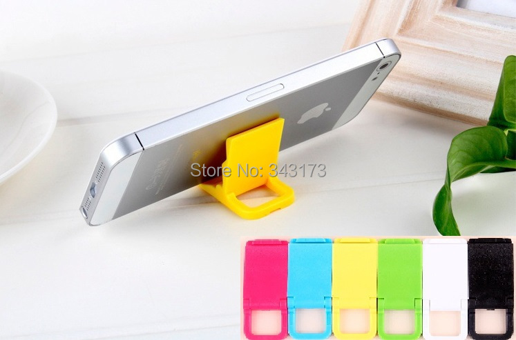 [30pcs] 2014 Best Gift Mobile Phone Stand 2 Angles Small Portable Smartphone Holder Keychain Design for iPhone Samsung #ED2006(China (Mainland))