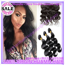 peruvian virginy hair with lace frontal closure 13×4 qwb peruvian virginy hair with lace frontal closure body wave 4pcs qwb hair
