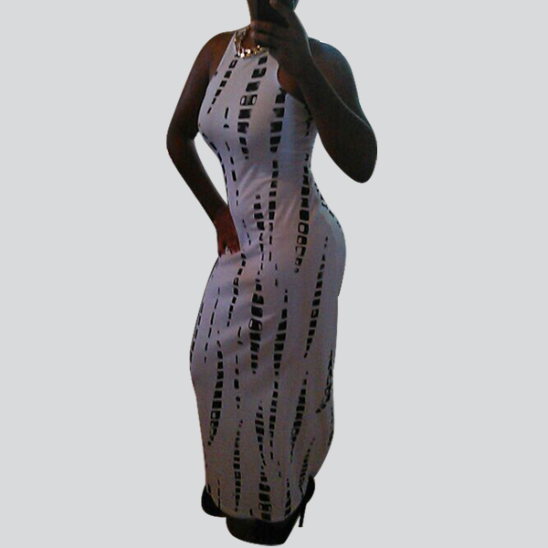 Party Clubwear Fashion 2015 Summer vestido de festa Lady Women Sexy Sleeveless Bandage Bodycon Stretch Long Maxi Dress 29(China (Mainland))