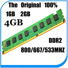 Brand New PC Memory Ram For DDR2 800 667 533 Mhz – 1Gb 2Gb 4Gb / ddr2 Memory RAM for PC -lifetime warranty- 800Mhz 667Mhz 533Mhz