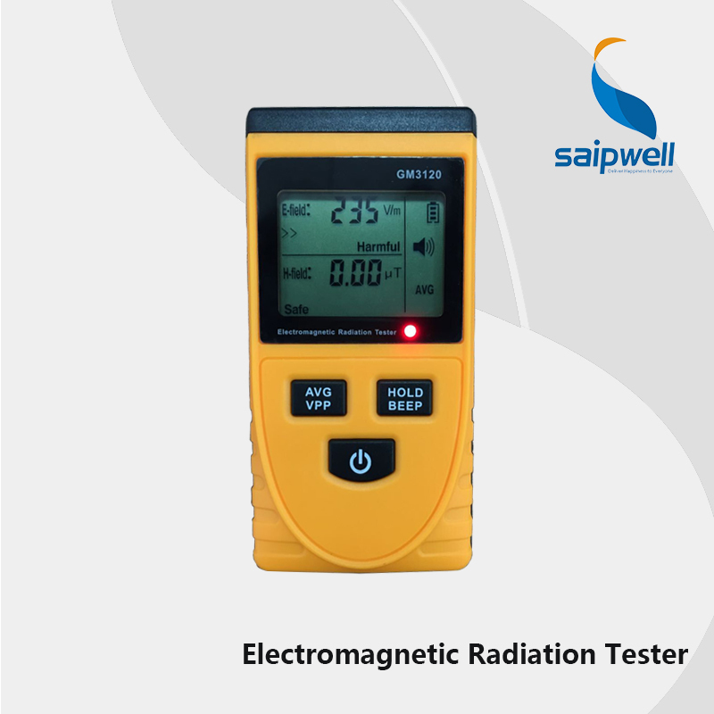 English UI CE Certificated Digital LCD Electromagnetic Radiation Detector Meter Dosimeter Tester ( SPM3120 )(China (Mainland))