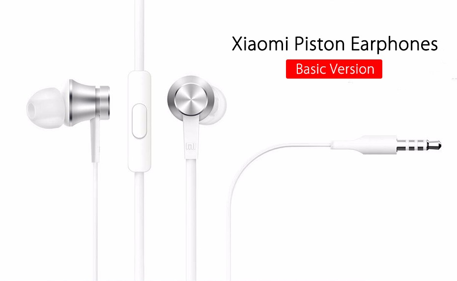 Newest Original Xiaomi Piston 3 Earphones Basic Edition Youth Colorful 3.5mm Bass Earphone Basic Version Headset with Remote Mic