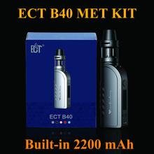 Buy Electronic Cigarette EGO Vaporizer 40W E Cigarette Vape Pen ECT B40 Met Kit EVOD Box Mod E Hookah Starter Kit ECT Tank X2062 for $26.78 in AliExpress store