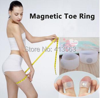 Топ 1 пара похудения инструменты силиконовые массаж ног Toe кольца сжигание жира для потери веса здравоохранения легкий портативный потеря массы тела