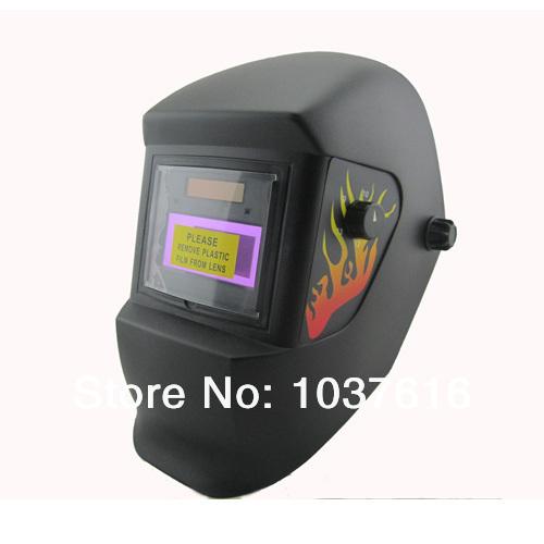 Power can control AAA battery solar auto darkening TIG MIG MMA electric welding mask/helmets/welder cap/goggles(China (Mainland))