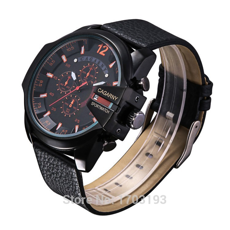 NEW arrival big dial quartz watch men fashion casual watches military watches men luxury top brand men date Wristwatches 2016<br><br>Aliexpress