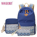 Ethnic Women Backpack for School Teenagers Girls Stylish School Bag Backpack Female Back Pack Set