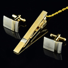 [Spot] French cufflinks cufflinks tie clip suit business gifts wholesale Factory Outlet