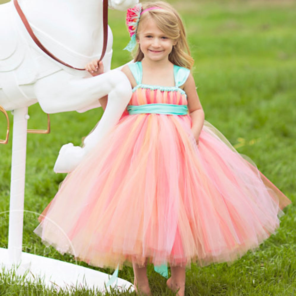 Buy pageant dresses for little girls for Little flower girl wedding dresses
