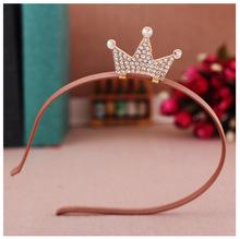 Buy baby girl princess crown headband hair head bands accessories girls children rhinestone hair ornaments hoop hairband tiaras for $2.12 in AliExpress store