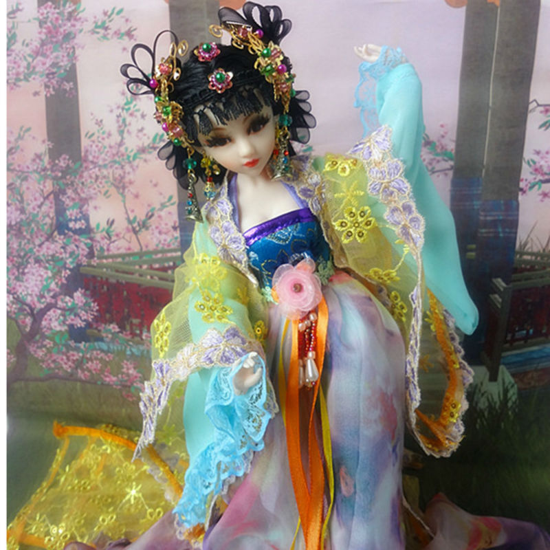High end 12 Inch Handmade Ancient Chinese Dolls ...