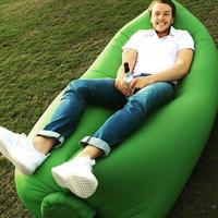 Fast Inflatable hangout Sleep Beach Lounger chair salon de jardin LaySack Bed Festival Camping Lamzac Laybag Kaisr Air Sofa
