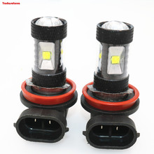 Buy Sale!!!2pcs 6000K Xenon White Powered 6 Cree Chips LED H8 H11 H9 LED Bulbs Fog Lights Daytime Running Lights DRL for $19.00 in AliExpress store