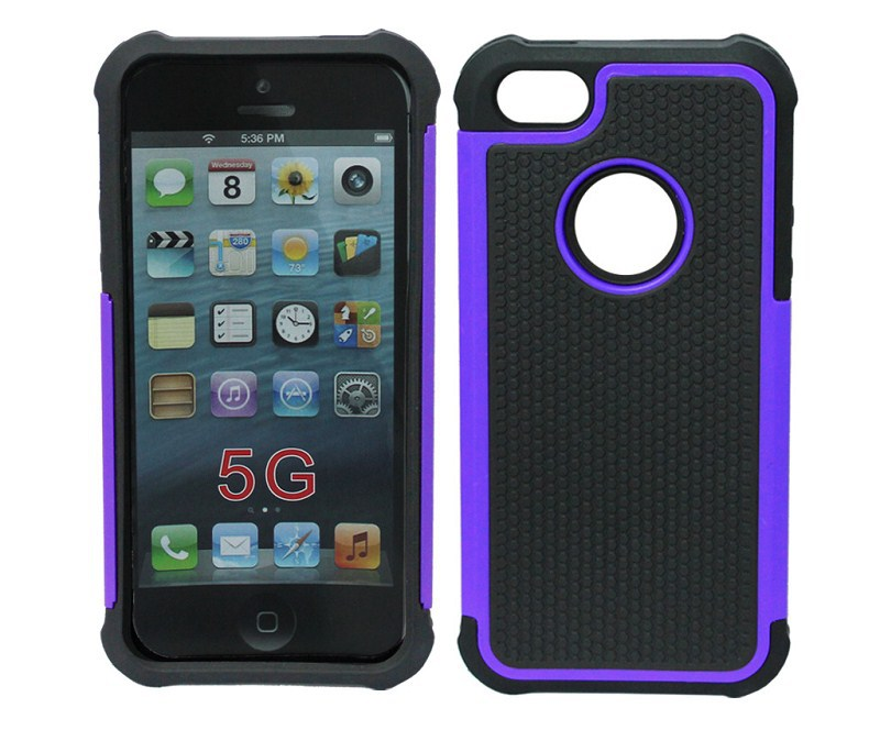 2 in one Hybird Shockproof Protection Hard TPU Silicone Rubber Soft Football Brand Case Cover For Apple iPhone 5/5s cases&bags(China (Mainland))