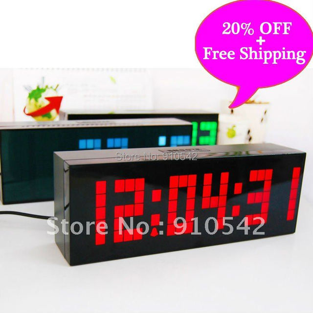 20% OFF!!!Free Shipping!!New alarm clock to the wall/desk/table,good for Decoration