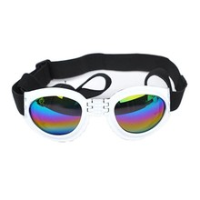 2015  New Free Shipping Fashion Pet Products Dog Sunglasses Pet Puppy Glasses White Yellow Blue Black Red Pink Color