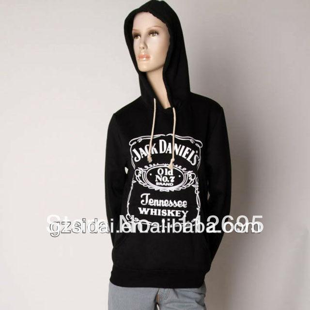 free  shipping  single black solid color  wholesale ladies hoodies,women  pullovers ,girl  sweatshirt
