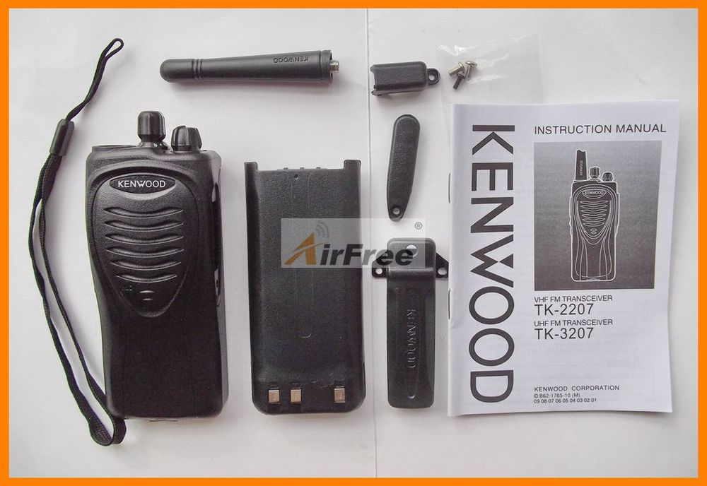 FREE Shipping KENWOOD TK3207 UHF FM Radio Transceiver with Battery & Charger(China (Mainland))