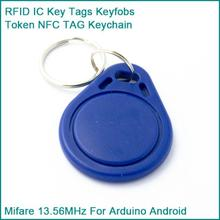 Buy 10PCS RFID Sensor Proximity IC Key Tags Keyfobs Token NFC TAG Keychain 13.56MHz Arduino Access Control Attendance for $1.68 in AliExpress store