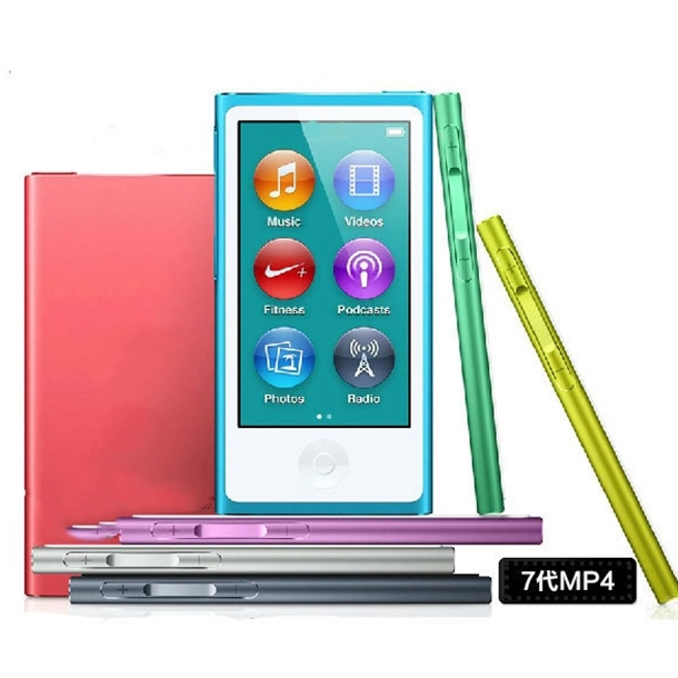 The same as the original Clone for iPod nano 7th Generation touch screen 16gb film music MP3 PLAYER A variety of language(China (Mainland))