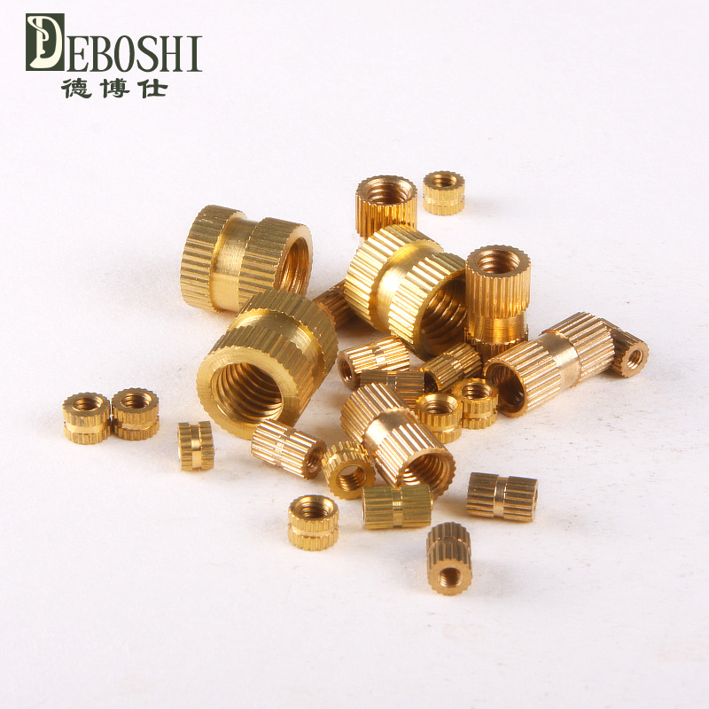 Copper inserts / Inserts / embedded copper / copper flower mother / cylindrical knurled nut M3 * 10-5<br><br>Aliexpress