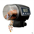 New Digital LCD Automatic Aquarium Fish Feeder Auto Flake Pellet Fish Food Tank Timer Feeder Electronic