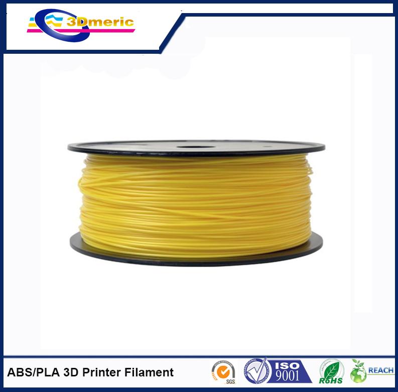 1 75mm Yellow ABS 3D Printer Filament 1kg Spool 2 2 lbs Dimensional Accuracy  0
