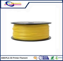 1.75mm Yellow  ABS 3D Printer Filament – 1kg Spool (2.2 lbs) – Dimensional Accuracy +/- 0.05mm