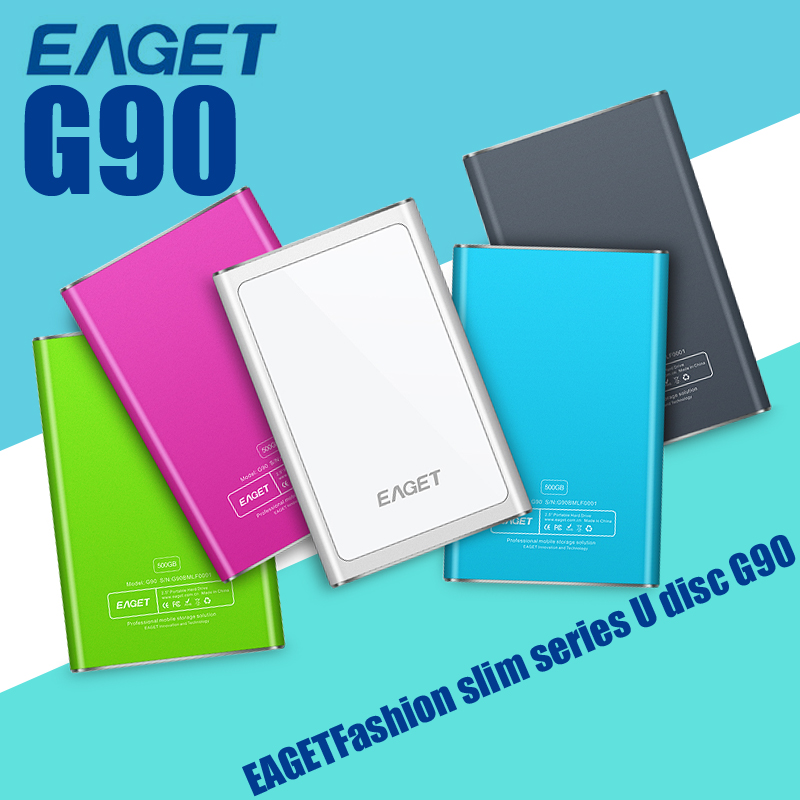 Original Eaget G90 External Hard Drives Disk Portable HDD High Speed Metal Hard Disk 500GB 1TB HD Externo Free Shipping(China (Mainland))