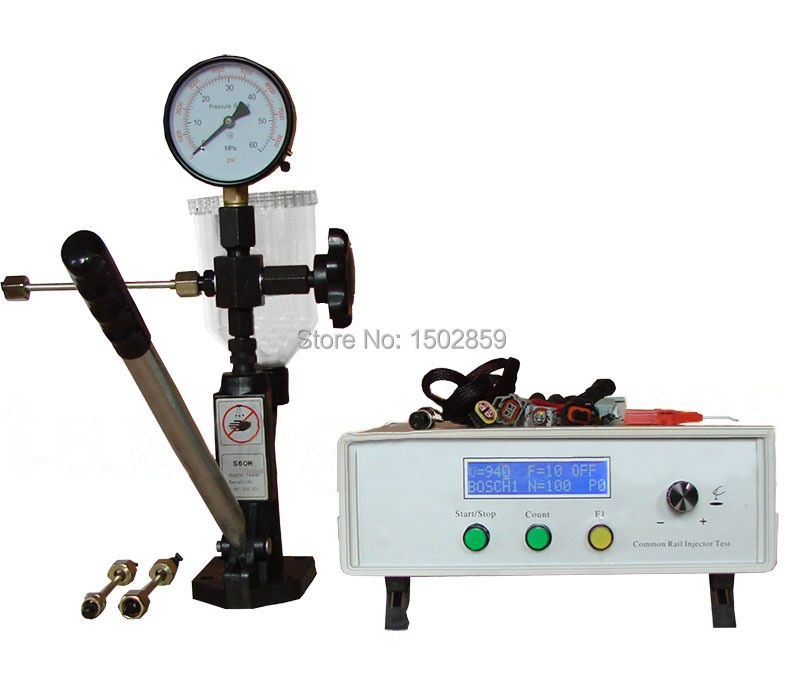 Common rail injector tester nozzle tester with piezo testing(China (Mainland))
