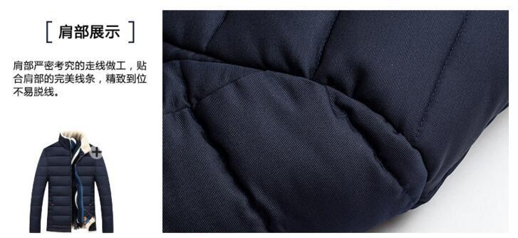 Скидки на 2016 мужские Пуховики Мужские Бренда Толстые Теплые Меховой Воротник с капюшоном Утка Пуховик Мужской Случайные Зимняя Куртка Мужчины chaqueta hombre