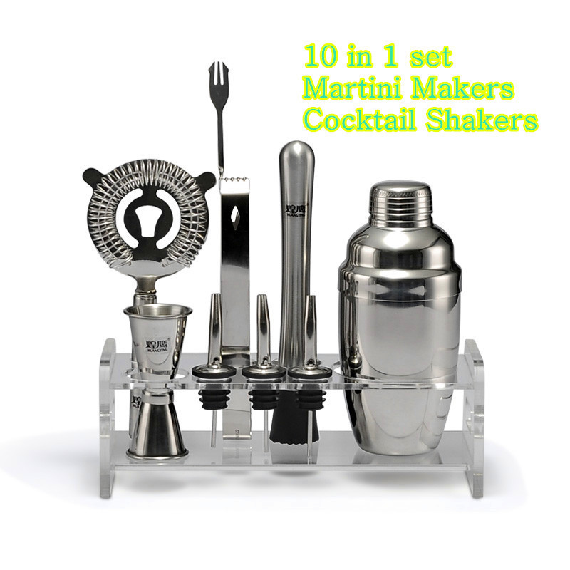 stainless steel cocktail shaker set japanese style shaker cup tools gift box wine rack stopper. Black Bedroom Furniture Sets. Home Design Ideas