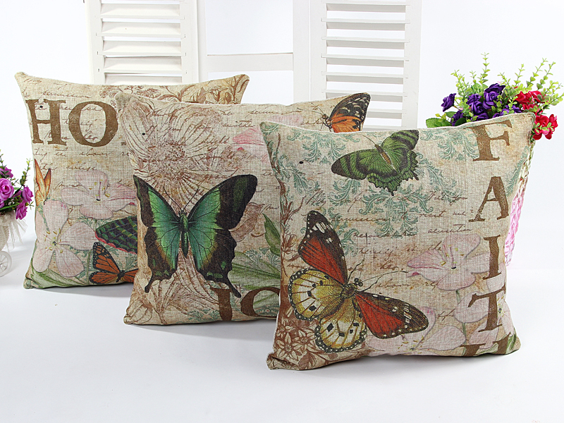Online buy wholesale butterfly cushion from china - Cojines decorativos para sofas ...