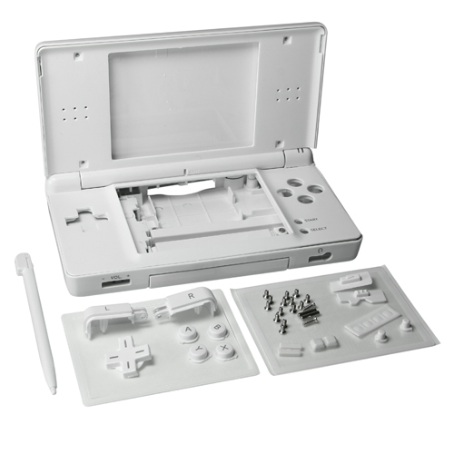 White Full Repair Parts Replacement Housing Shell Case Kit for Nintendo DS Lite NDSL<br><br>Aliexpress