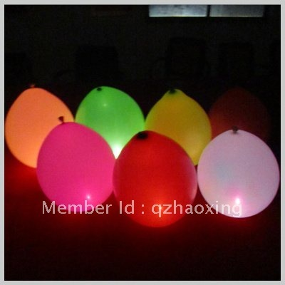 HX 2012 New Products Led Balloon for All Kind of Occasion